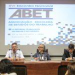 Confira a galeria de fotos do XVI Encontro da ABET